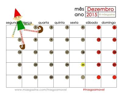 calendario maegazine natal